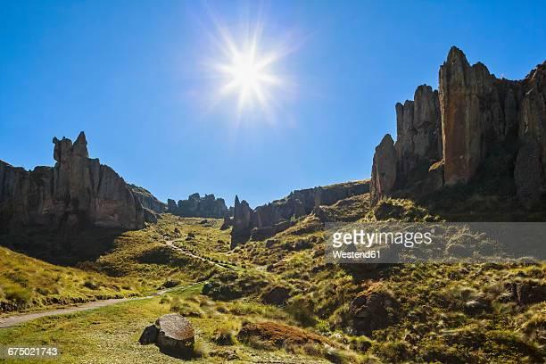 Peru, Cajamarca, Cumbe Mayo Archaelogical Complex