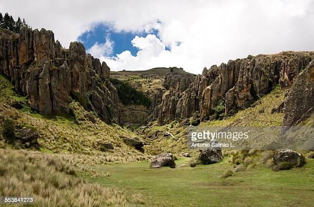 Peru Cajamarca Cumbemayo or Kumbe Mayo