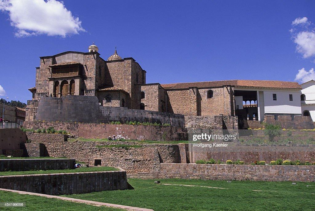 Peru, Cuzco, Santo Domingo Monastery, Built On The Temple Of The Sun, Inca Temple.