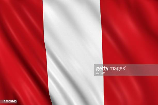 peruvian flag stock photos and pictures getty images