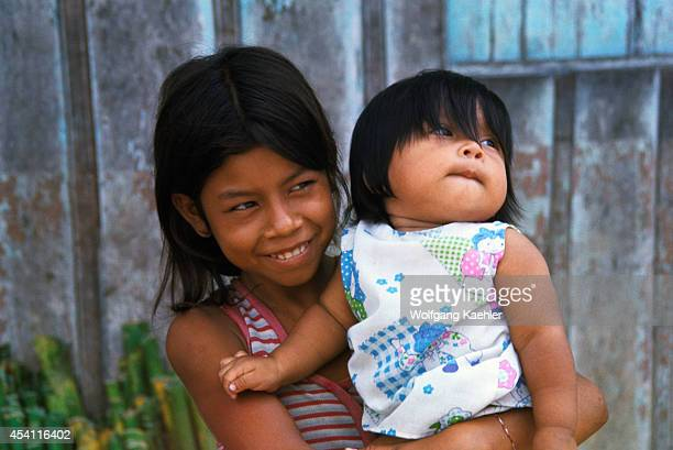Peru Iquitos Local Girls