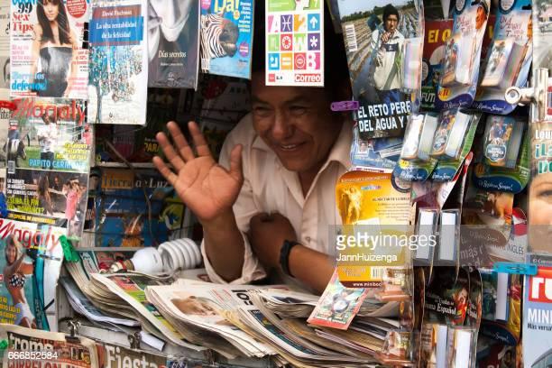 Pérou: Journal du vendeur vagues Hello