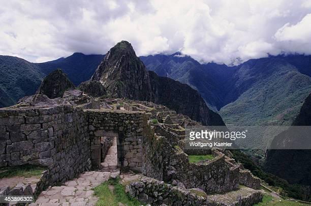 Peru Sacred Valley Machu Picchu Entrance Door Inca Trail