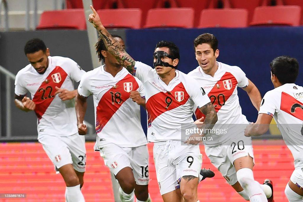 FBL-2021-COPA AMERICA-COL-PER : News Photo