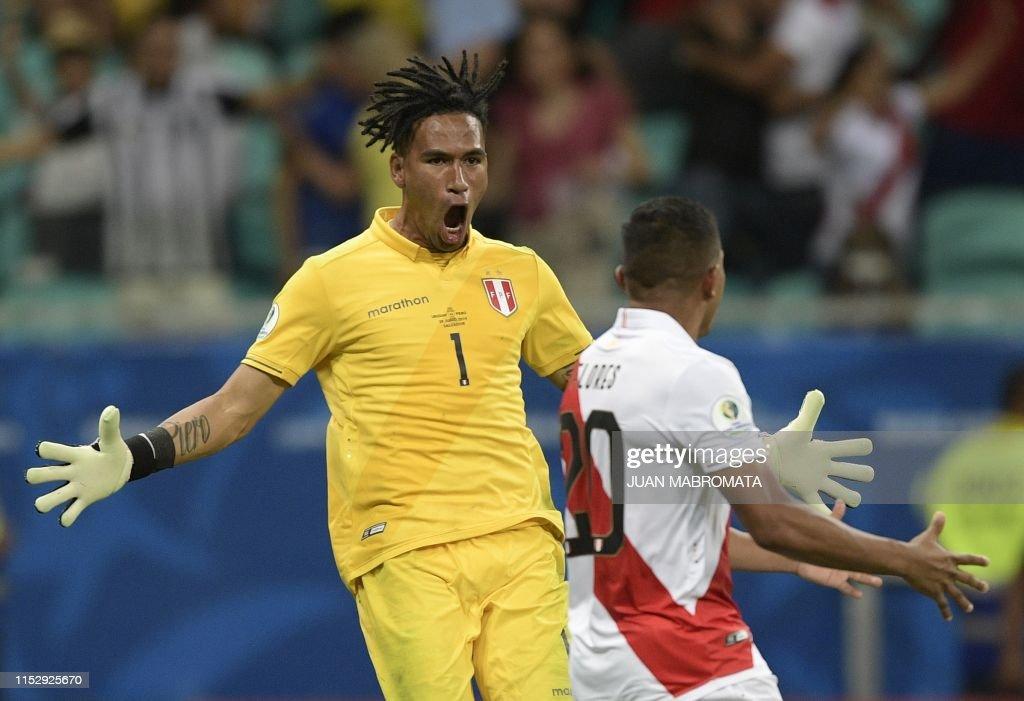 FBL-COPA AMERICA-2019-URU-PER : News Photo