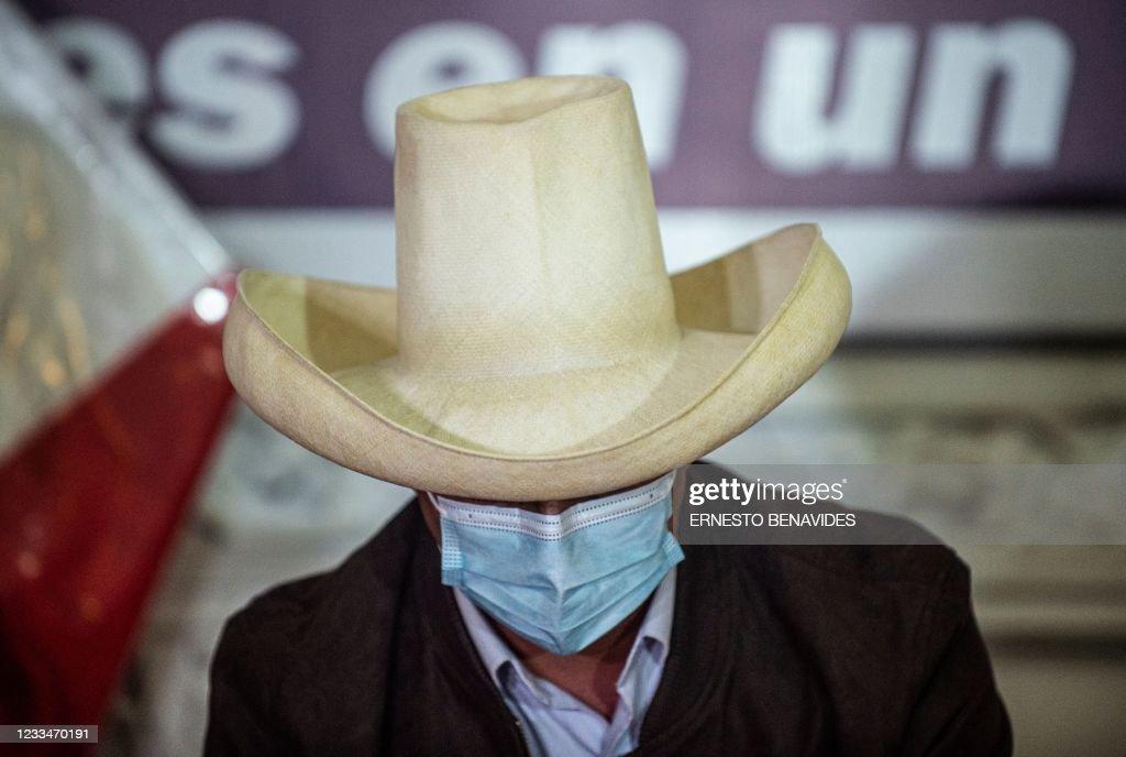 PERU-ELECTION-RUNOFF-CASTILLO-PRESSER : Foto di attualità