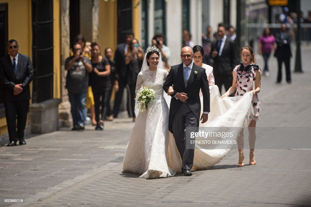 PERU-ROYALS-WEDDING-HANOVER-DE OSMA : News Photo