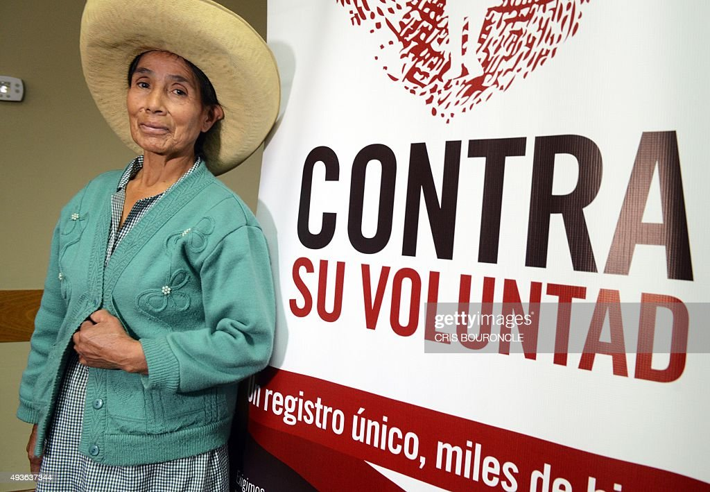 PERU-HUMAN RIGHTS-WOMEN-STERILIZATION : News Photo
