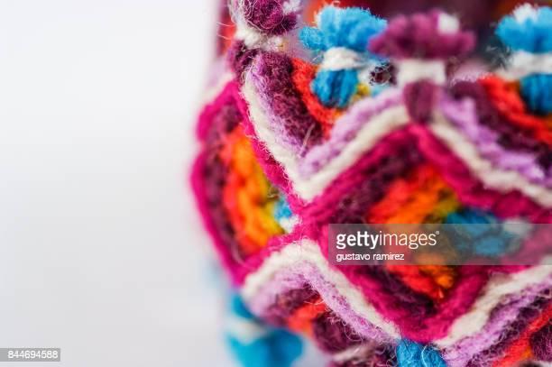 Peruvian craft souvenir textile