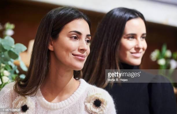 Peruvian designer Alessandra de Osma and Chilean designer Moira Laporta during the presentation of new bags of her brand MoiSass on November 12 2019...