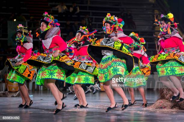 Peruvian Folkloric dance International festival of folk dances El Buen Pastor School municipality of Los Olivos Lima Peru