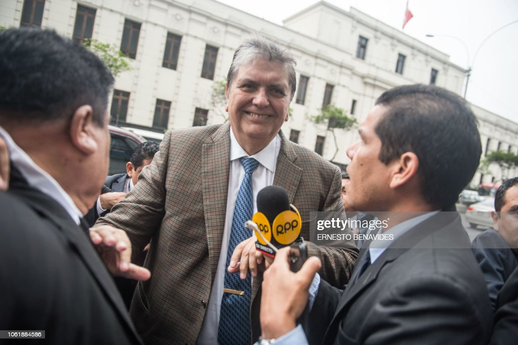 PERU-GARCIA-CORRUPTION-ODEBRECHT : News Photo
