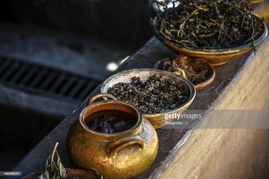 Peruvian Herbs : Stock Photo