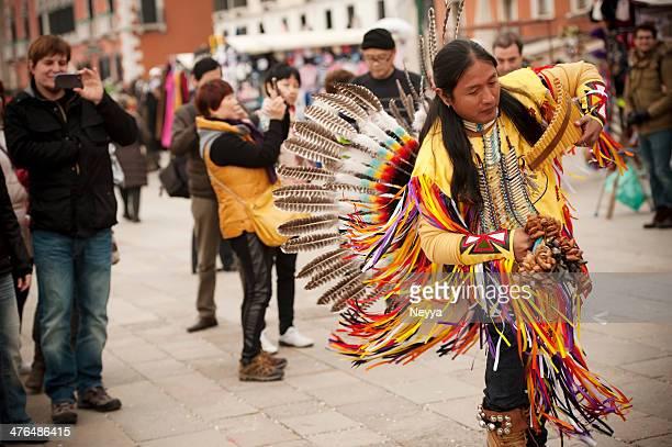 Danza peruana músico