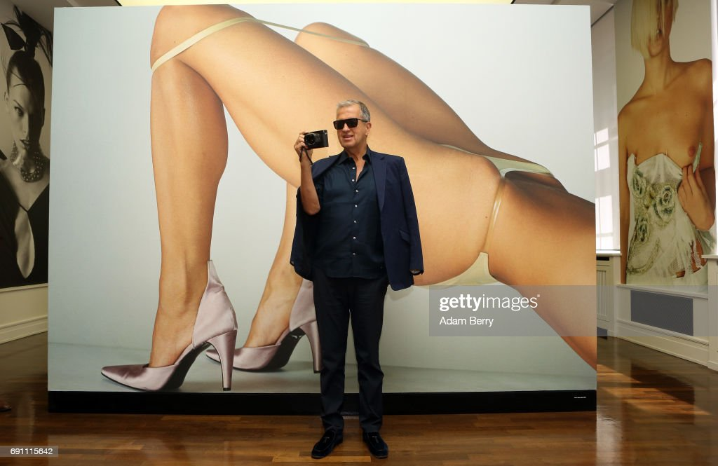 'Mario Testino. Undressed / Helmut Newton. Unseen / Jean Pigozzi. Pool Party' Exhibition Preview In Berlin