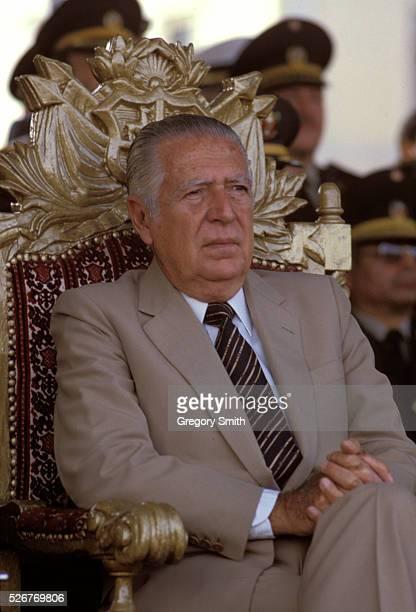 Peruvian President Fernando Belaunde Terry Photo taken in the 1980s | Location Peru