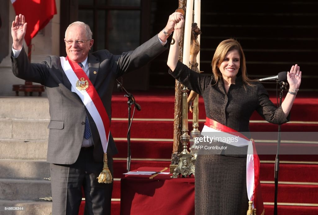 PERU-GOVERNMENT-MINISTERS-SWEARING-IN : News Photo
