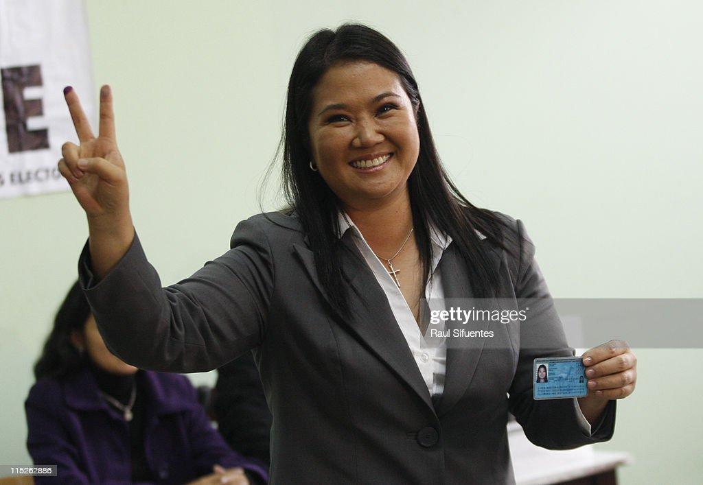 Ballotage in Peru : News Photo