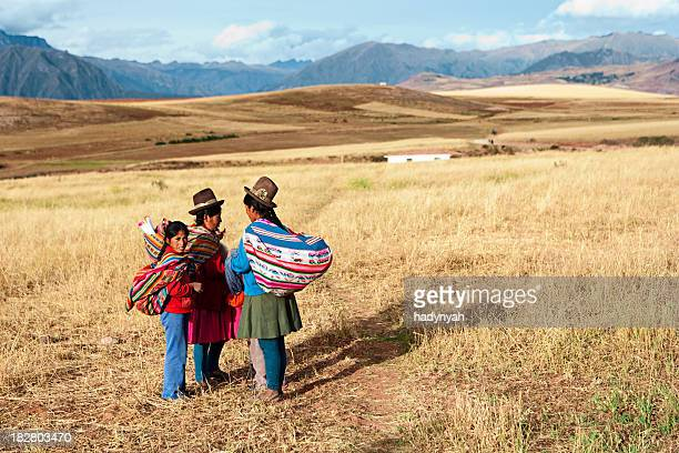 Peruvian women in national clothing, The Sacred Valley