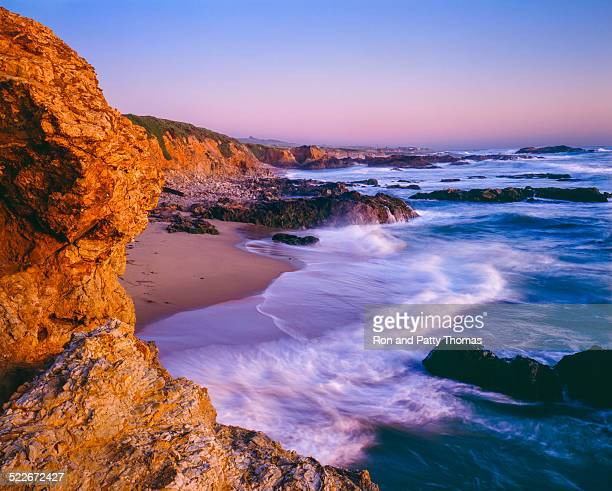 pescadero state beach seacape,beach,surf,ca - san mateo county stock pictures, royalty-free photos & images