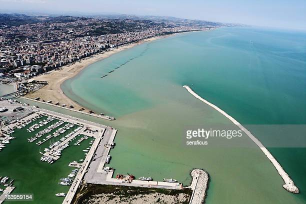 Pescara from above
