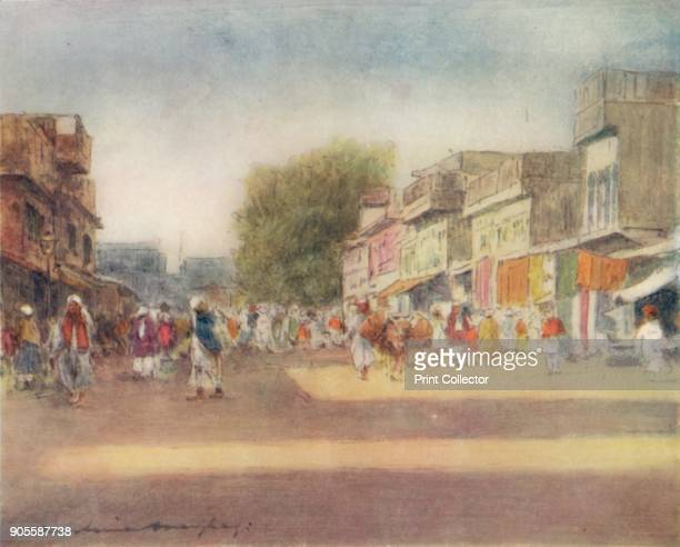 'Peshawur' 1905 From India by Mortimer Menpes Text by Flora A Steel [Adam Charles Black London 1905] Artist Mortimer Luddington Menpes