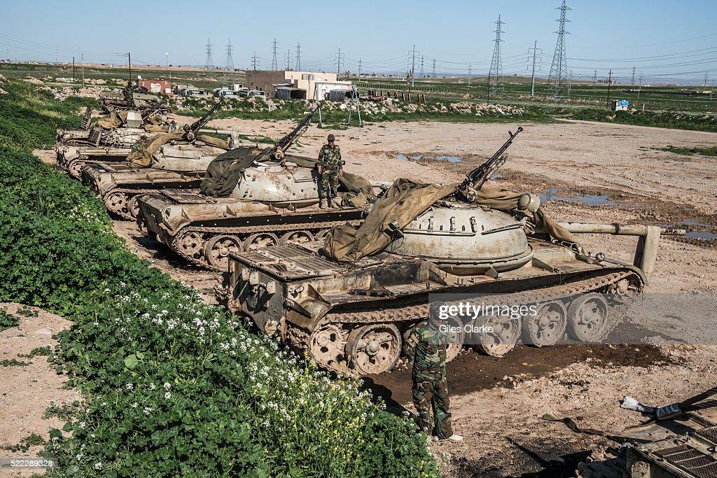 Peshmerga Forces in Sinjar : News Photo