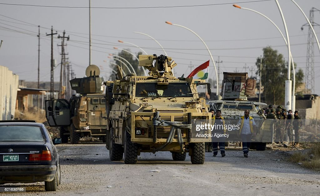 Operation To Liberate Iraq's Mosul From Daesh : News Photo