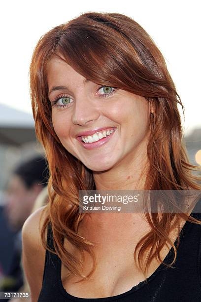 Pesonality Nikki Osborne attends the St George OpenAir Cinema Launch screening Stranger Than Fiction at the Birrarung Marr on the Yarra River on...
