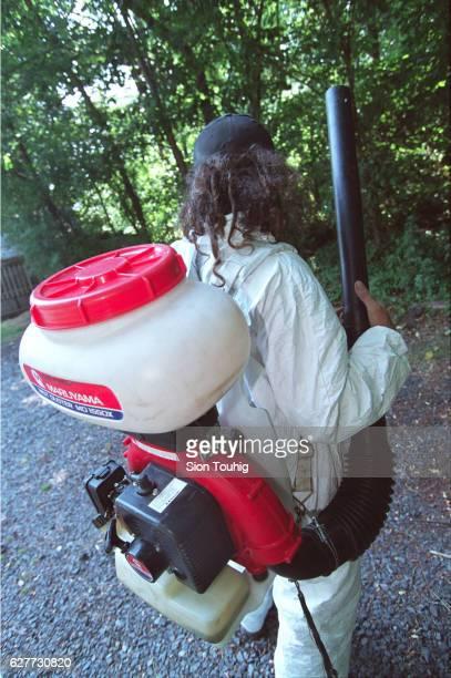 A pesticide sprayer