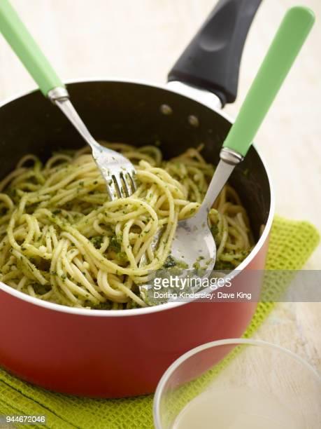 Pesto Pasta - step by step