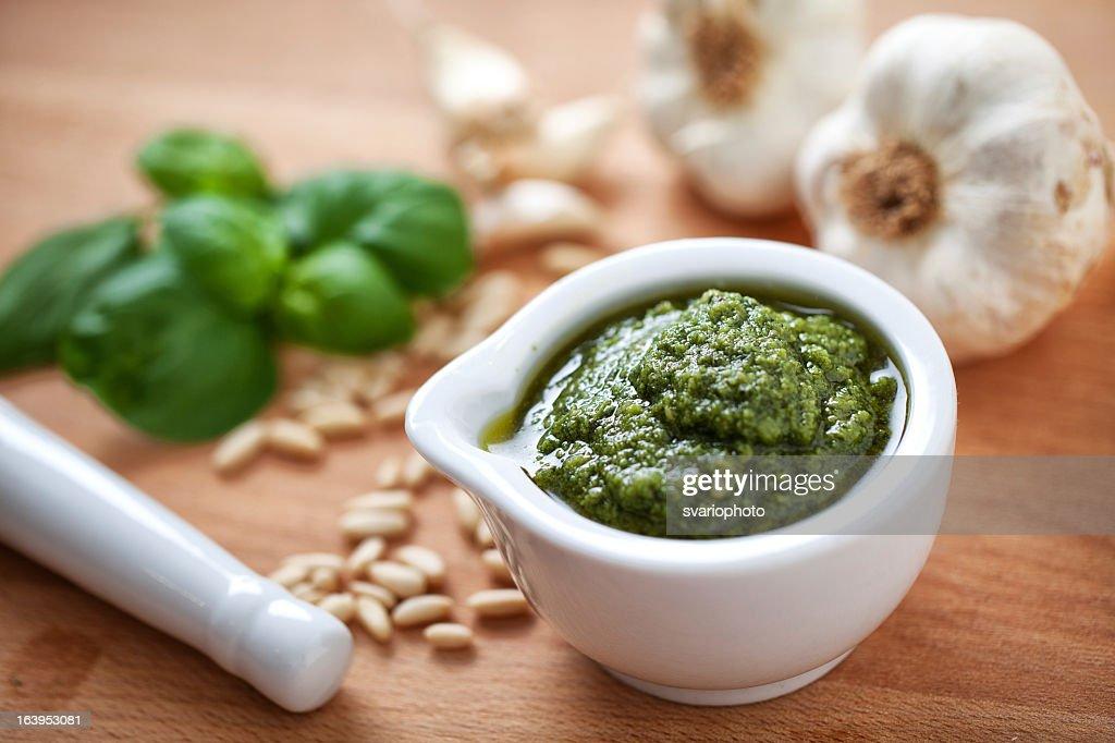 Pesto Sauce : Stock Photo