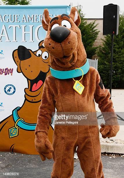 Pet Ambassador ScoobyDoo attends the 2012 Pet Adoptathon KickOff at North Shore Animal League America on May 4 2012 in Port Washington New York