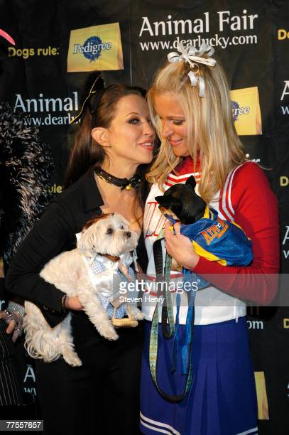 Pet Costume Party Host Wendy Diamond and The Morning Show Cohost Juliet Huddy attend the Annimal Fair Magazine's 7th Annual Canine Halloween Pet...