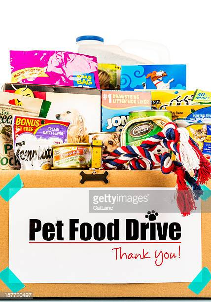 pet food drive - litter box stock photos and pictures