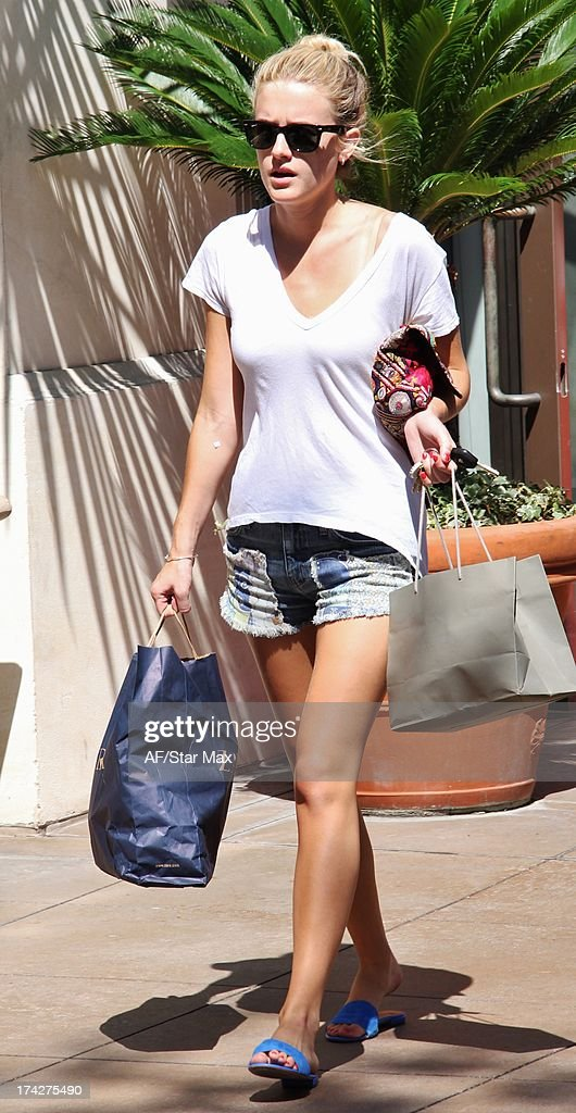 Peta Murgatroyd as seen on July 22, 2013 in Los Angeles, California.