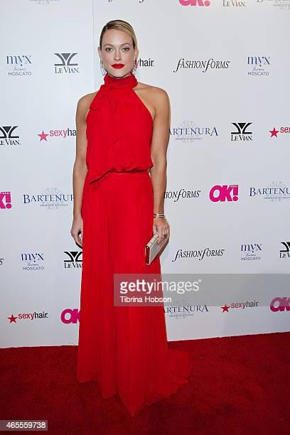 Peta Murgatroyd attends OK Magazine's PreOscar event at The Argyle on February 19 2015 in Hollywood California