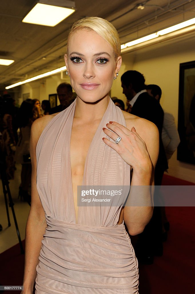 Maks Chmerkovskiy and Peta Murgatroyd Engaged - Sway Gala : News Photo