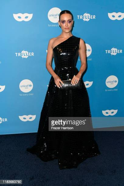 Peta Murgatroyd attends the UNICEF Masquerade Ball at Kimpton La Peer Hotel on October 26 2019 in West Hollywood California