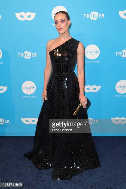 Peta Murgatroyd attends UNICEF Masquerade Ball at Kimpton La Peer Hotel on October 26 2019 in West Hollywood California