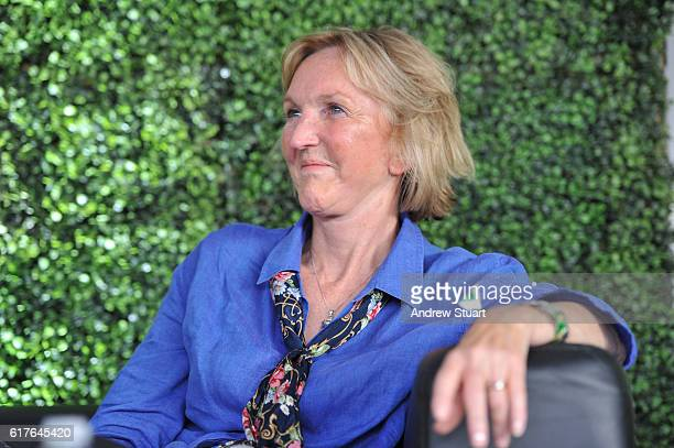 Peta president and co founder Ingrid Newkirk speaks at the Fonda Theatre on October 23 2016 in Los Angeles California