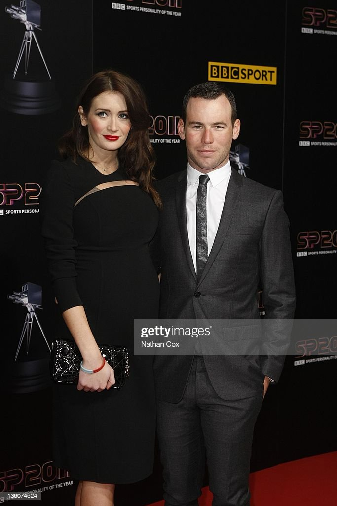 Peta Todd and Mark Cavendish attend the awards ceremony for BBC Sports Personality of the Year 2011 at Media City UK on December 22, 2011 in Manchester, England.
