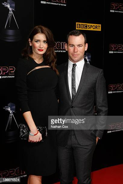 Peta Todd and Mark Cavendish attend the awards ceremony for BBC Sports Personality of the Year 2011 at Media City UK on December 22 2011 in...