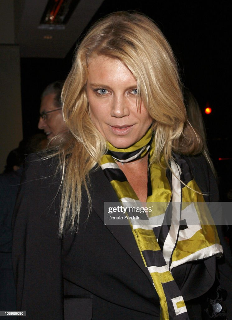 Peta Wilson during Millennium Promise West Coast Launch Honoring Jeffrey Sachs at Private Home in Beverly Hills, CA, United States.