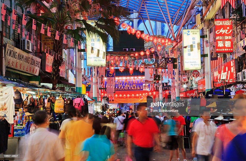 Petaling street market : Stock Photo