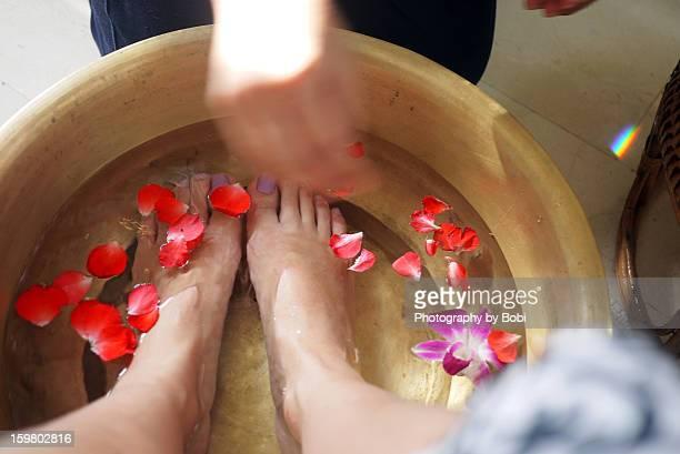 Petals feet of spa in Phuket