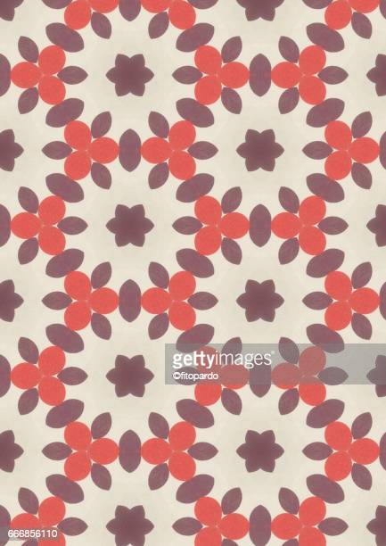 Petals kaleidoscope pattern