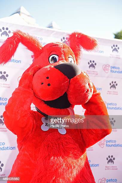 Petco Foundation mascot Red Ruff Adoptapalooza in Union Square Park brought numerous animal rescue organizations together under the big tent of the...