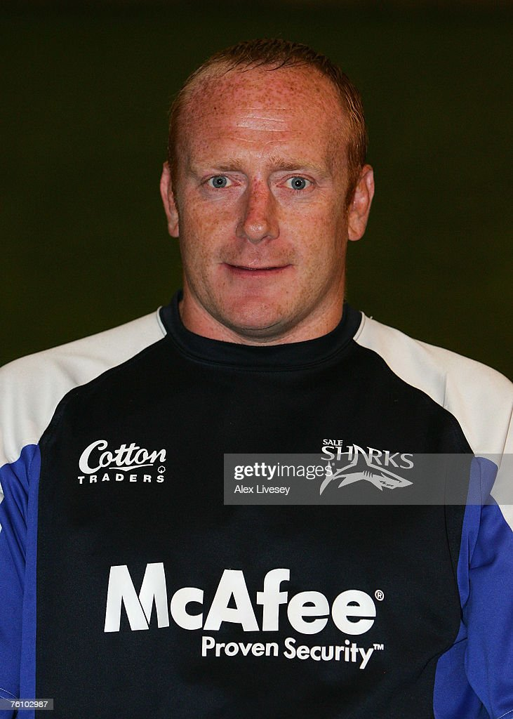 Pete Anglesea the coach of Sale Sharks during the Sale Sharks Photocall held at the Carrington Training Complex on August 14, 2007 in Carrington, England.