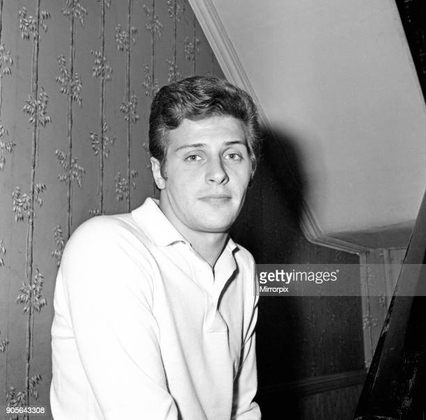 Pete Best former Beatles drummer at home in Hymans Green Liverpool in 1965 Picture taken 25th April 1965